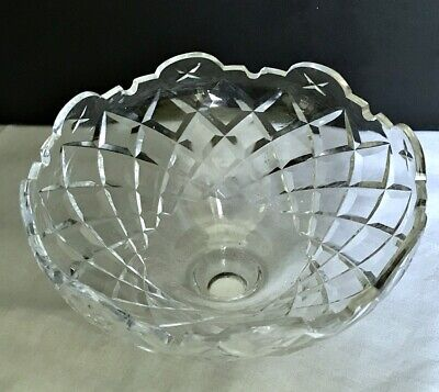 Waterford Crystal Avoca 6 Arm Chandelier Centerpiece Bottom Bowl Replacement