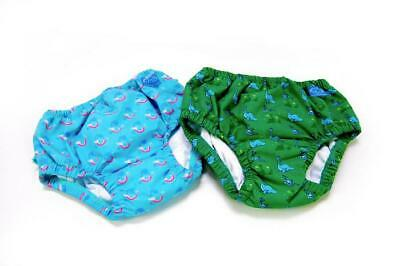 TWF Swim Nappy Reusable Washable Baby Toddler 0-18m 3 Sizes Lightweight Snug