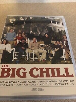 LIKE NEW The Big Chill (Blu-ray/DVD, 2014, 2-Disc Set, Criterion Collection)