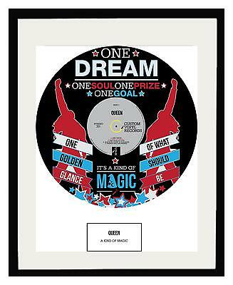 QUEEN - MEMORABILIA - Framed POSTER PRINT ART - Limited Edition - Ideal Gift