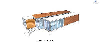 Shipping Container House Catalog L40' X W8' or L20' X W8'