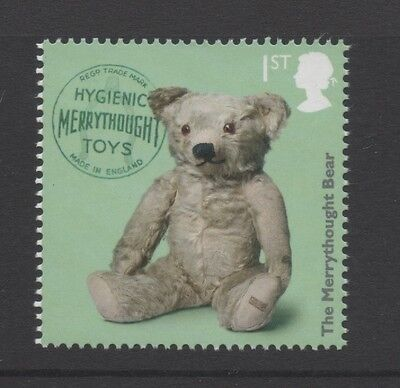 Merrythought Bear/Classic Toys/Gb 2017 Um Mint Stamp