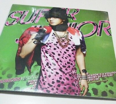 Super Junior Mr. Simple Yesung cover ver. LP size Kpop CD + 10 Photocard F/S