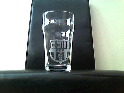 Wigan Athletic Etched Engraved Beer Pint  Glass