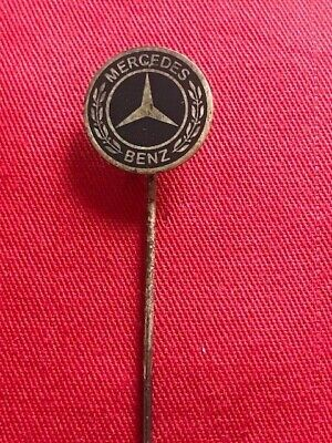 Anstecknadel Badge MERCEDES BENZ   Button Pin selten rar alt