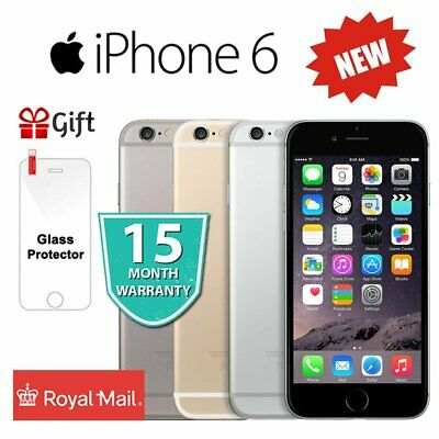 NEW Apple iPhone 6 64GB 16GB Unlocked Smartphone Space Grey / Gold / Silver S