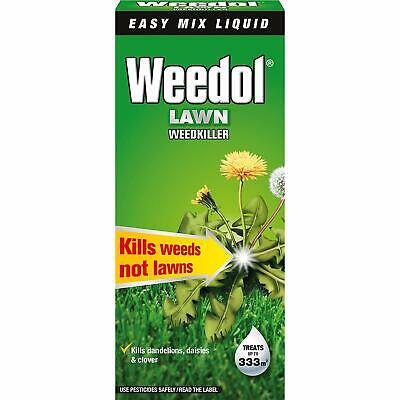 Weedol Lawn WeedKiller Concentrated 500ml Plant Grass Flower Garden Weed Prevent