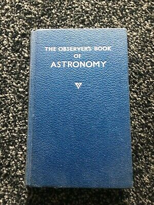 The Observer's book of  Astronomy   Observers Observer  1964