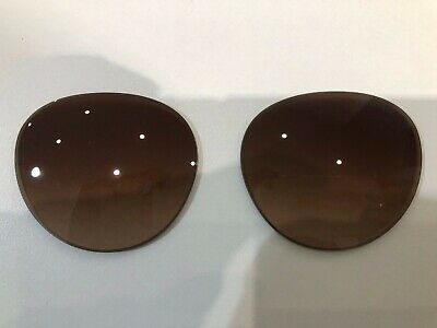 Tiffany & Co 4141 55 Replacement Brown Grad Lenses 58 NEW!!