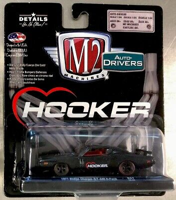 2019 M2 Machines Drivers 57 Hooker 1971 Dodge Charger RT 440 6 Pack NEW RELEASE