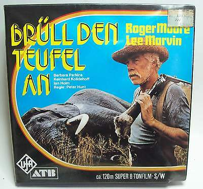 Super 8 Tonfilm Brüll den Teufel an Lee Marvin