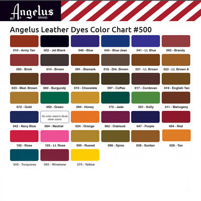 Angelus Leather Dye Pint x3  Daubers 4  Applicator ALL COLORS Shoes Jackets