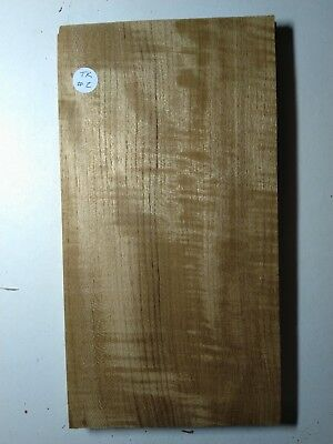 Consecutive Sheets Of Figured Teak Veneer 16X31Cm Tk#2 Marquetry