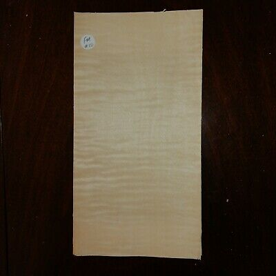 Consecutive Sheets Figured Maple Veneer 16 X 32 Cm Fm#10 Marquetry