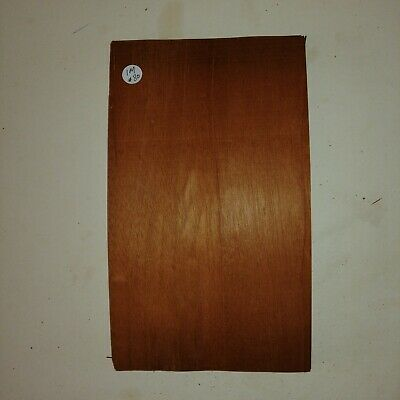 CONSECUTIVE SHEETS OF INDIAN MAHOGANY VENEER 18 X 30 cm IM#2 MARQUETRY