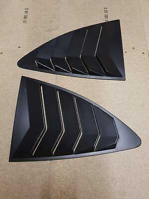 GT86 BRZ FRS Quarter Side Window Cover 1/4 Louvre Scoop drift JDM side vent