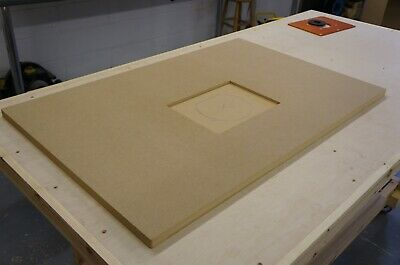 Router Table Top - MFT 3 Size - 25mm Medite MDF - CNC Machined For Insert