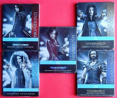 films underworld blu ray steelbook metal box limited edition new kate beckinsale