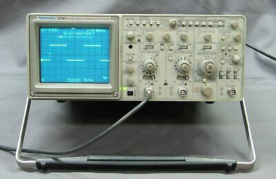 Tektronix 2230 100MHz Analog / Digital Storage Scope w/ GPIB,  tested good