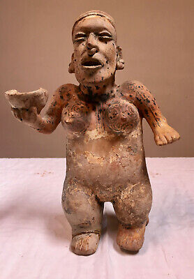 Pre-Columbian Figure from Jalisco, West Mexico, circa 250 BC - 250 AD