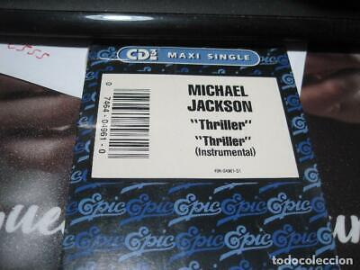 Michael Jackson  Thriller- Cd Single Long Box- Edicion Usa-Sealed
