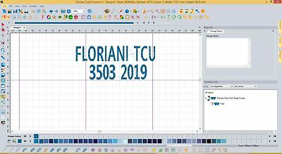 Floriani Total Control U 2019 NEW Full version - Embroidery Software Download