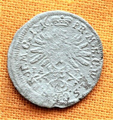 Late Medieval Austrian Coin - Silver 1 Kreuzer 1716.