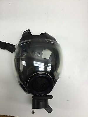 MSA Millennium CBRN Gas Mask w/Drink Tube 10006232 Size Small. Gently Used