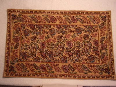 "3/""x4/"" World Of Miniature Bears Rug  Dollhouse Miniature Rug Carpet 1:12 #669LG"