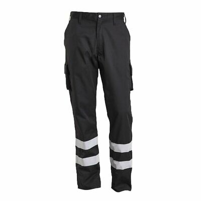 Mascot 17979-850-09-82C52 Service Trousers Safety Pants, Black, 82C52