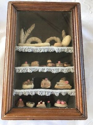 Decoration Pastry Bakery Shabby Chic Miniatures Breads and Cakes
