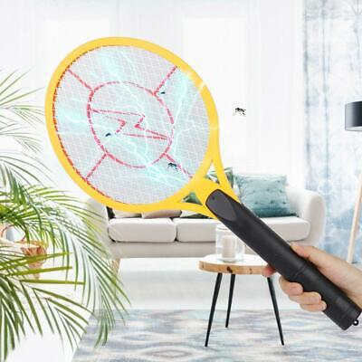 Battery Powered Pest Insects Zapper Racket Mosquito Swatter For Home Bug Killer