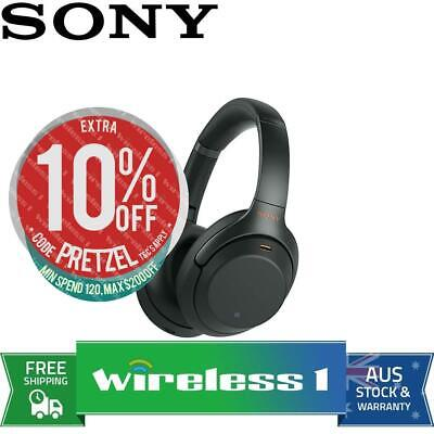 Brand New Sony WH-1000XM3 Wireless Noise Cancelling Headphones - Black