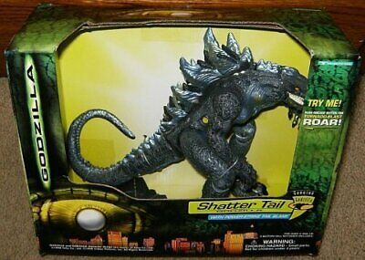 GODZILLA SHATTER TAIL Electronic Action Figure with Power