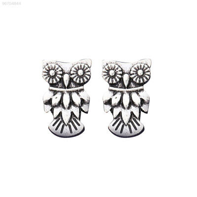 7362 4 Pairs/Kit Ear Studs Owl Jewellery Turquoise Accessories