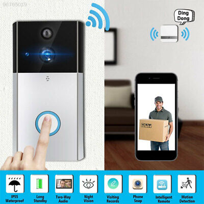 5712 with Indoor Chime DoorBell Wire Free Surveillance Supplies