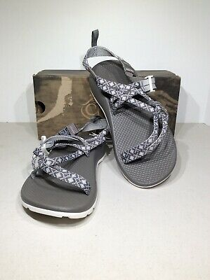 c83514148a57 Chaco ZX1 Ecotread Kids Youth Size 6 Gray Diamond Sport Sandals X20-910