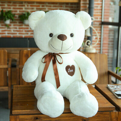60CM Giant Big Plush Stuffed Teddy Bear Huge Soft Toy Best B-Day Xmas Gift US