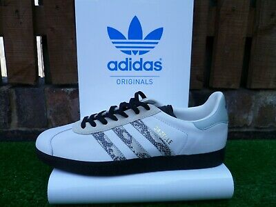 premium selection fecad 22ae0 Adidas MI GAZELLE II UK8.5 LEATHER CUSTOM COLOURWAY 80s casuals RARE LOOK!