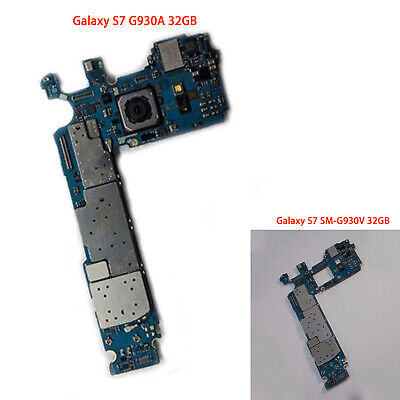 Smartphone Parts 32GB Unlocked Motherboard for Samsung Galaxy S7 G930A/SM-G930V