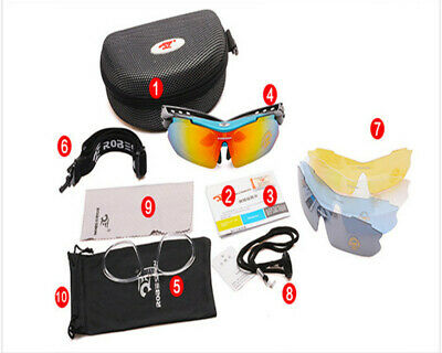 Men's Sport Cycling Bicycle Sunglasses Outdoor Goggles Driving Eyewear Glasses