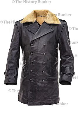 Czech Sniper leather coat BLACK - repro made to order