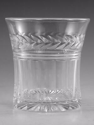 "STUART Crystal - ARUNDEL Cut - Tumbler Glass / Glasses - 3 5/8"" (1st)"