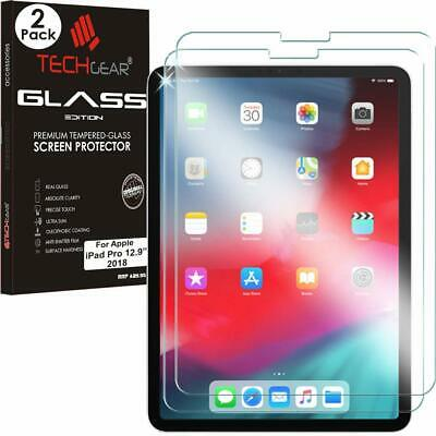 TECHGEAR iPad Pro 12.9 2018 Genuine Tempered Glass Screen Protector Guard Cover