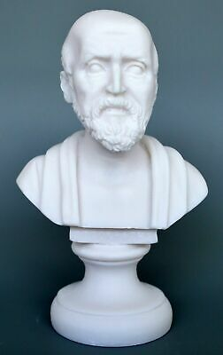 Hippocrates Father of Modern Medicine Cast Alabaster bust