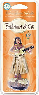 Bahama Scent Hula Girl Oahu Island Splash Car Air Freshener Fragrance