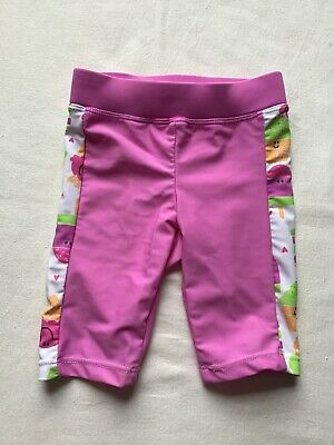 Girls Age 3-6 Months Swim Bottoms Trousers Pink Ice Lolly Design