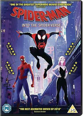 Spiderman Into The Spider-verse DVD DISK ONLY.