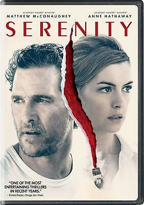 Serenity (2019) (Dvd) Disk Only.