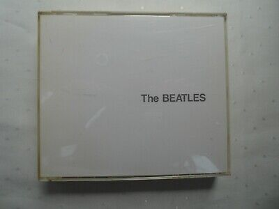 THE BEATLES  -  THE WHITE ALBUM  2 x CD  FATBOX CASE WITH BOOKLET